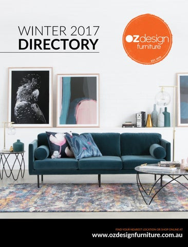 Oz Design Furniture Winter 17 Directory By