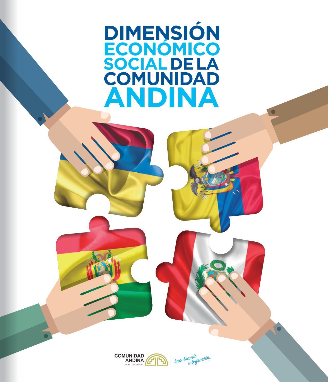 DIMENSION ECONOMICO SOCIAL - COMUNIDAD ANDINA by YURAQ.Comunicadores ...