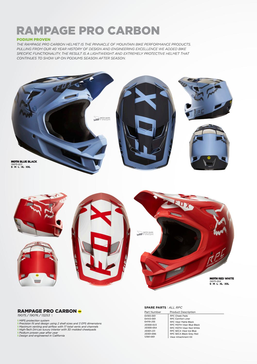 Fox MTB SP17 by Monza Imports - issuu