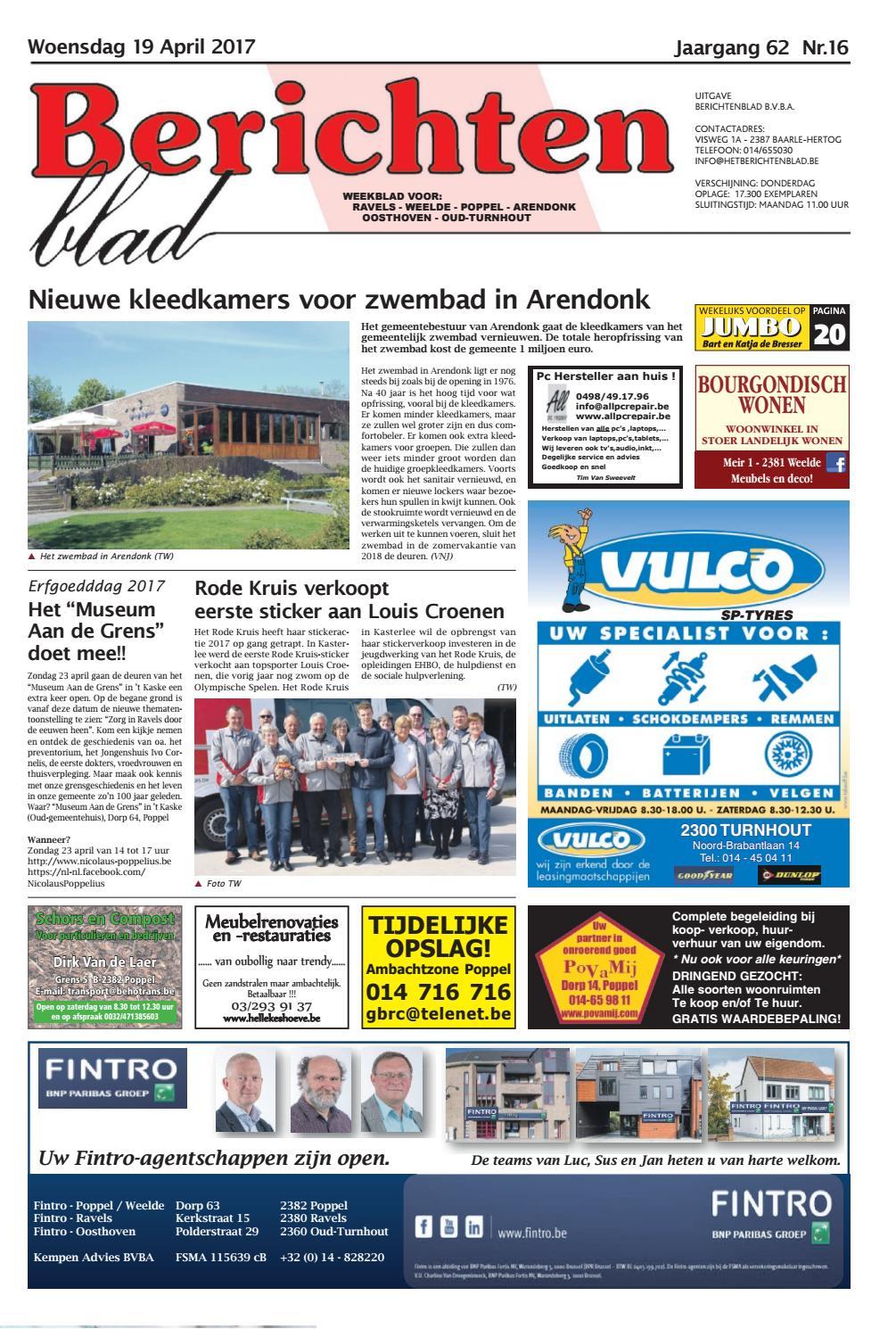 d38b8886770 Berichtenblad 19-04-2017 by Uitgeverij Em de Jong - issuu