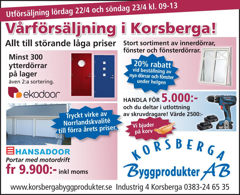 0000170404 01 korsberga bygg2 by Hallpressen - issuu : laga fönster : Fönster
