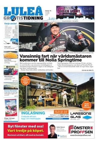 promo code 6b07b b3fcc Luleå Gratistidning med Team Sportia bilaga by Svenska ...