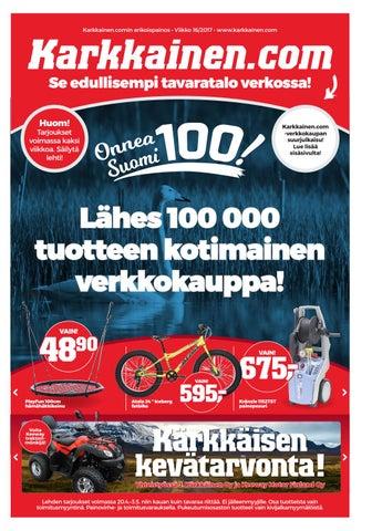 Kärkkäisen mainos (16 2017) (P) by Tavaratalo J. Kärkkäinen Oy - issuu 481e5ca718