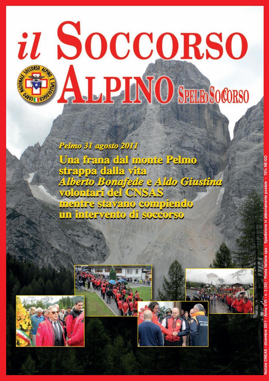 il Soccorso Alpino SpeleoSoccorso n. 52, dicembre 2011, anno
