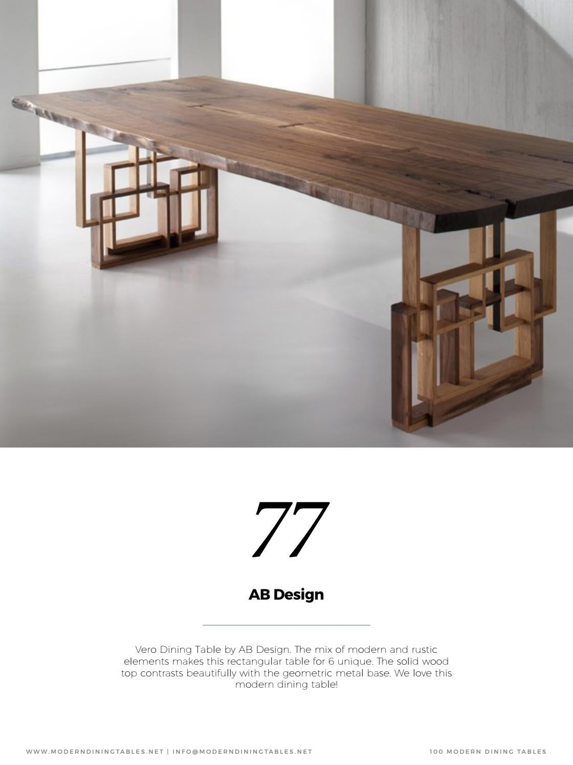page rustic elements. Salle à Manger | Tables Contemporaines By HOME \u0026 LIVING MAGAZINES - Issuu Page Rustic Elements