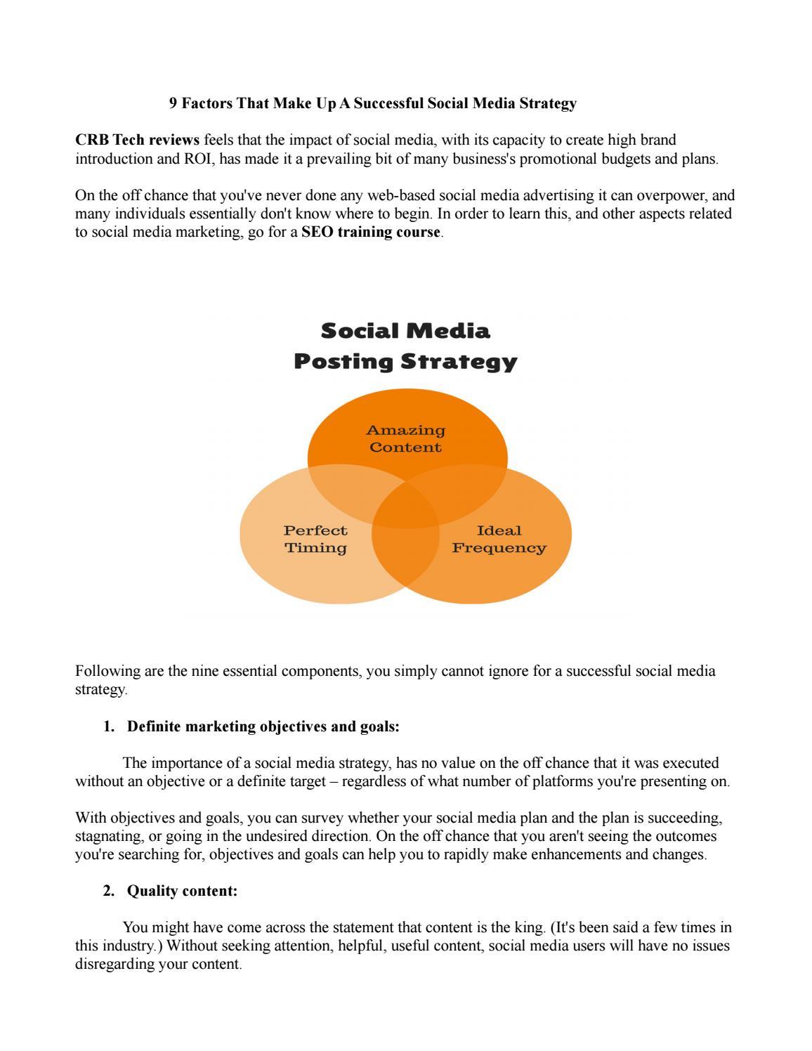 Environmental Factors in Strategic Planning