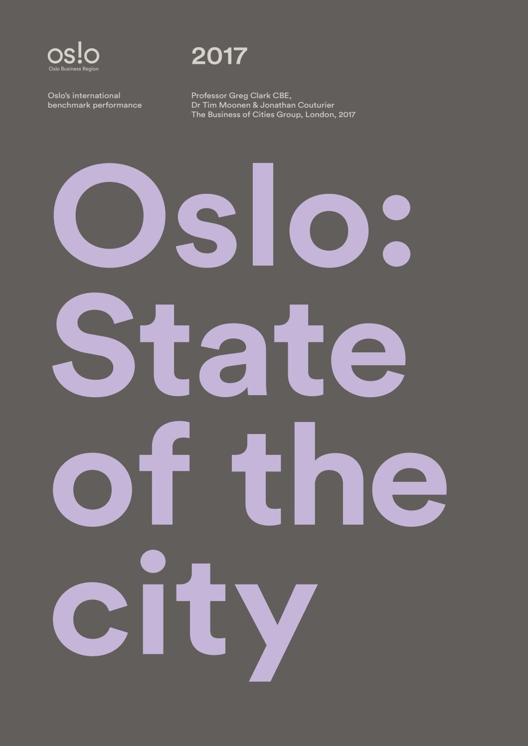 OSLO State of the City 2017