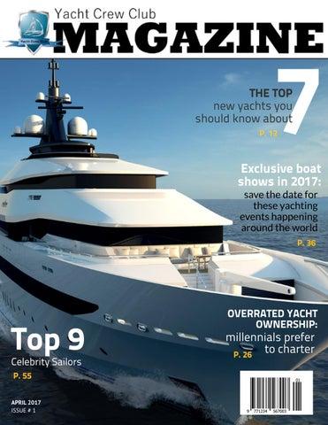 Yacht Crew Club Magazine Issue 1 2017