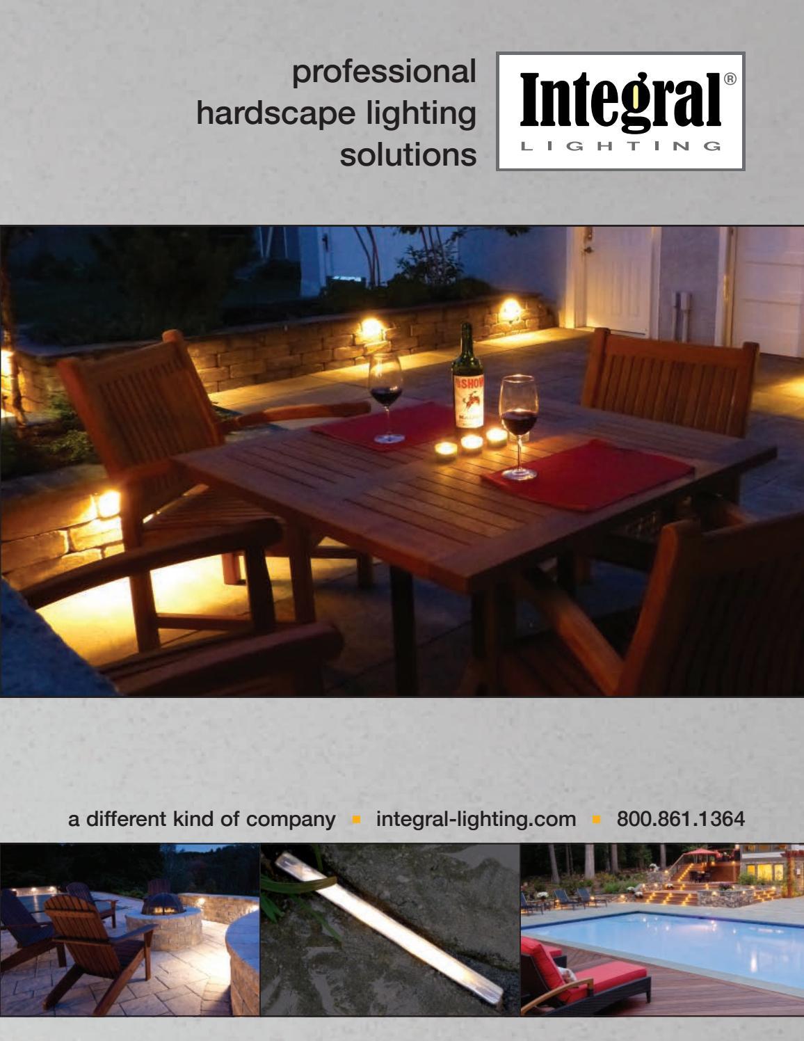 Integral Lighting Catalog Stonecenter