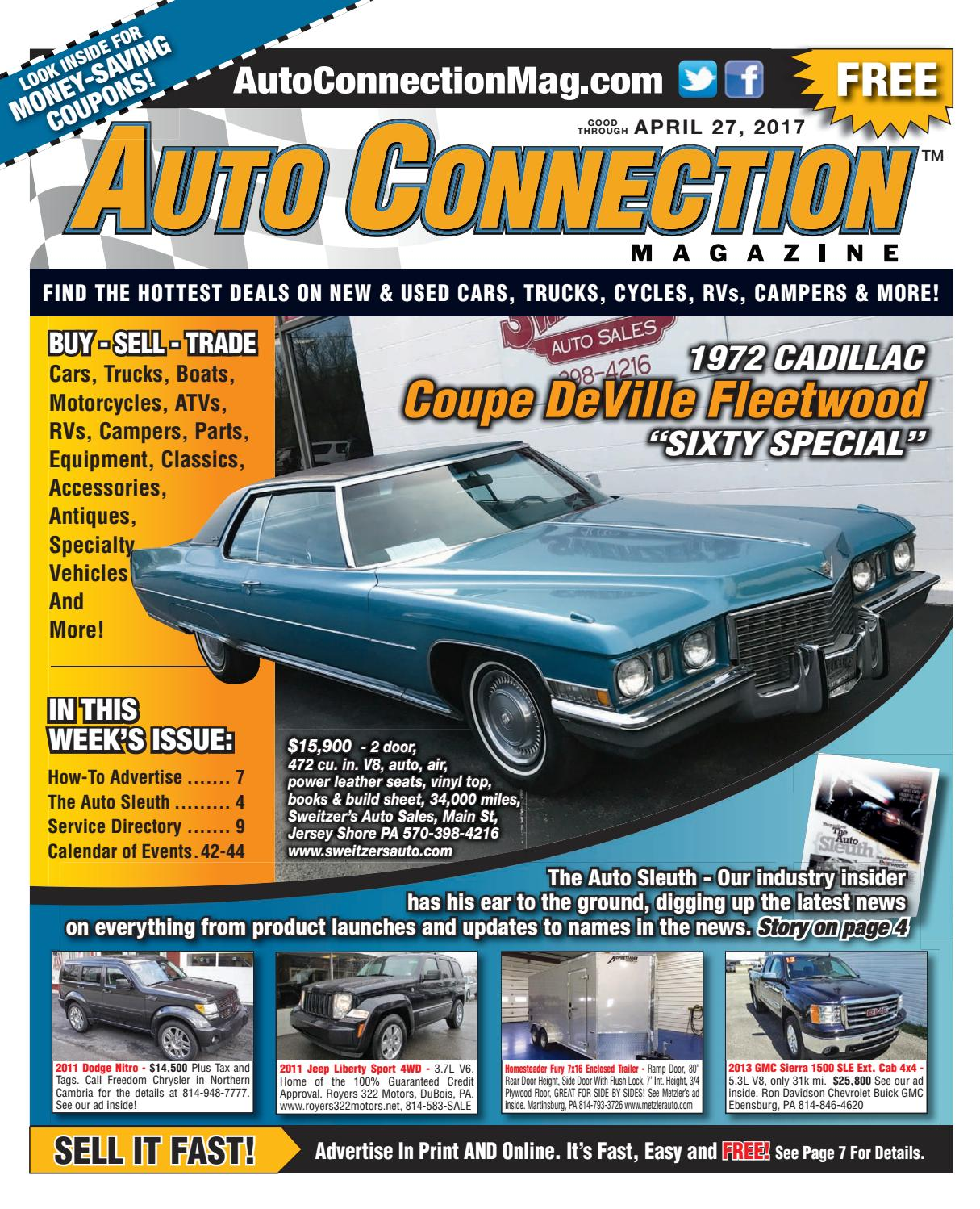 04-27-17 Auto Connection Magazine by Auto Connection Magazine - issuu