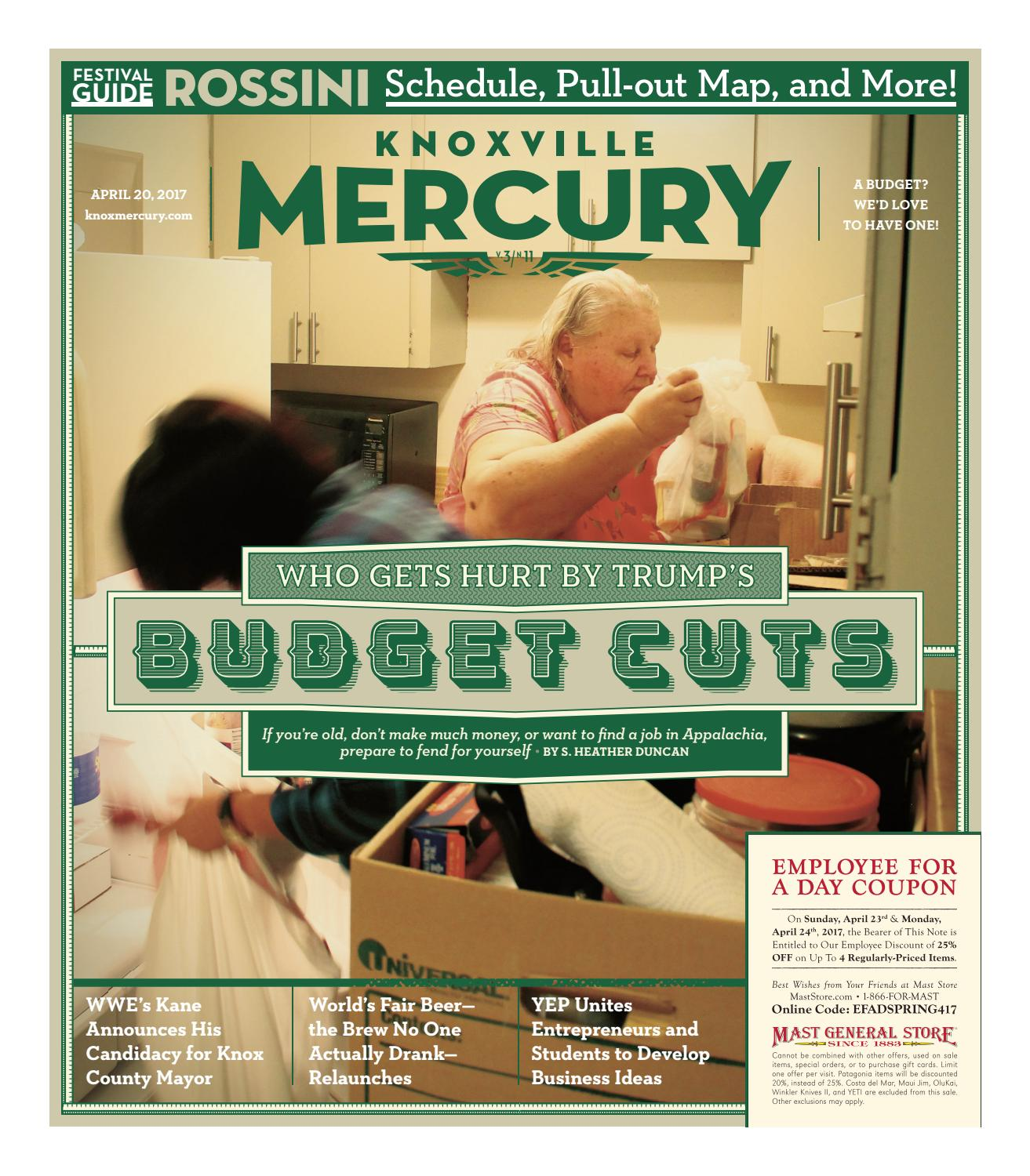 Vol 3 Issue 11 Apr 20 2017 By Knoxville Mercury Issuu