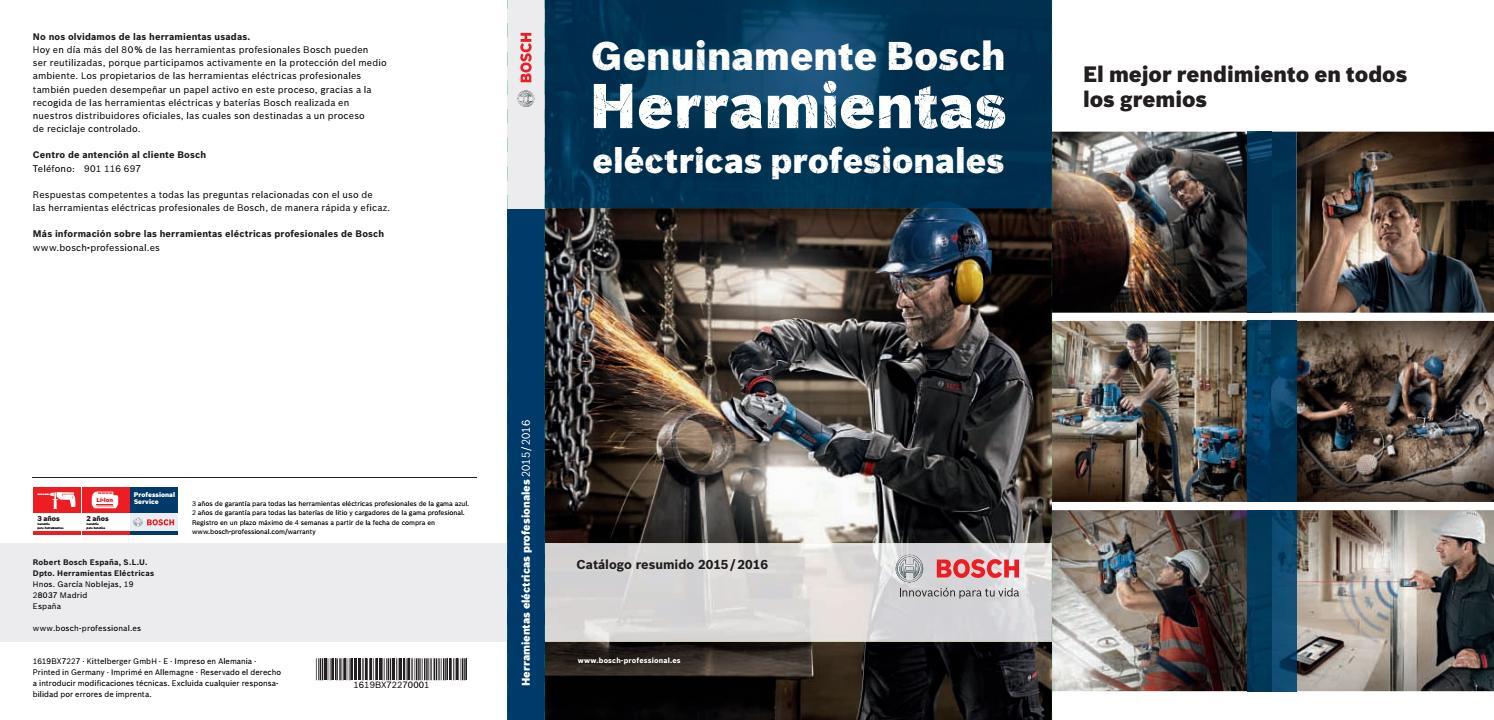 9344f9cf98 Catálogo herramientas electricas Bosch by FISA Ferreteria Industrial  Colombia - issuu
