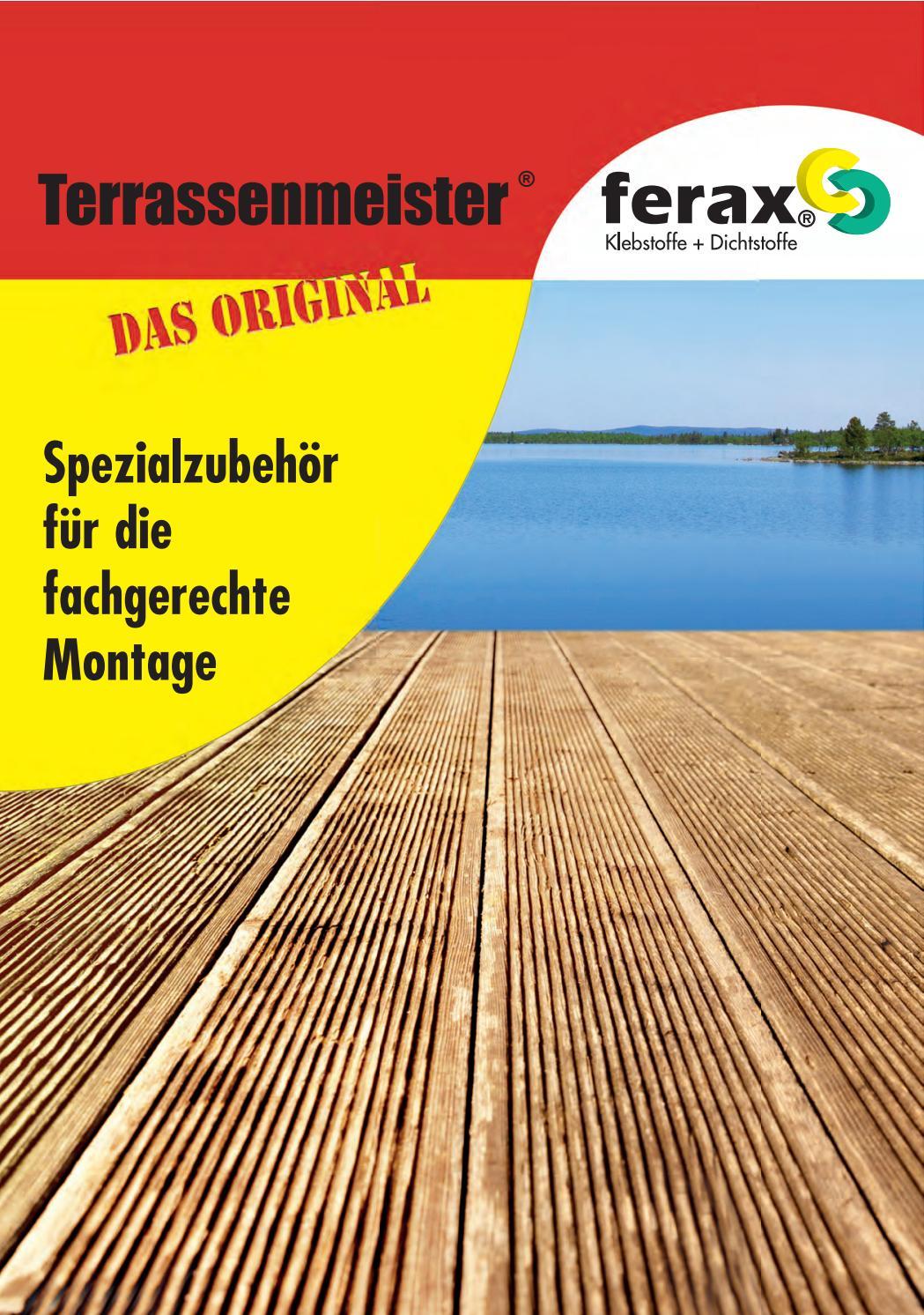 Schrauben 5,5 x 46 mm Alu-BohrFix auch Hart- und Thermoh/ölzer auf Aluminium Holzterrasse Befestigung aller H/ölzer Terrassenmontage SIHGA 200 St/ück