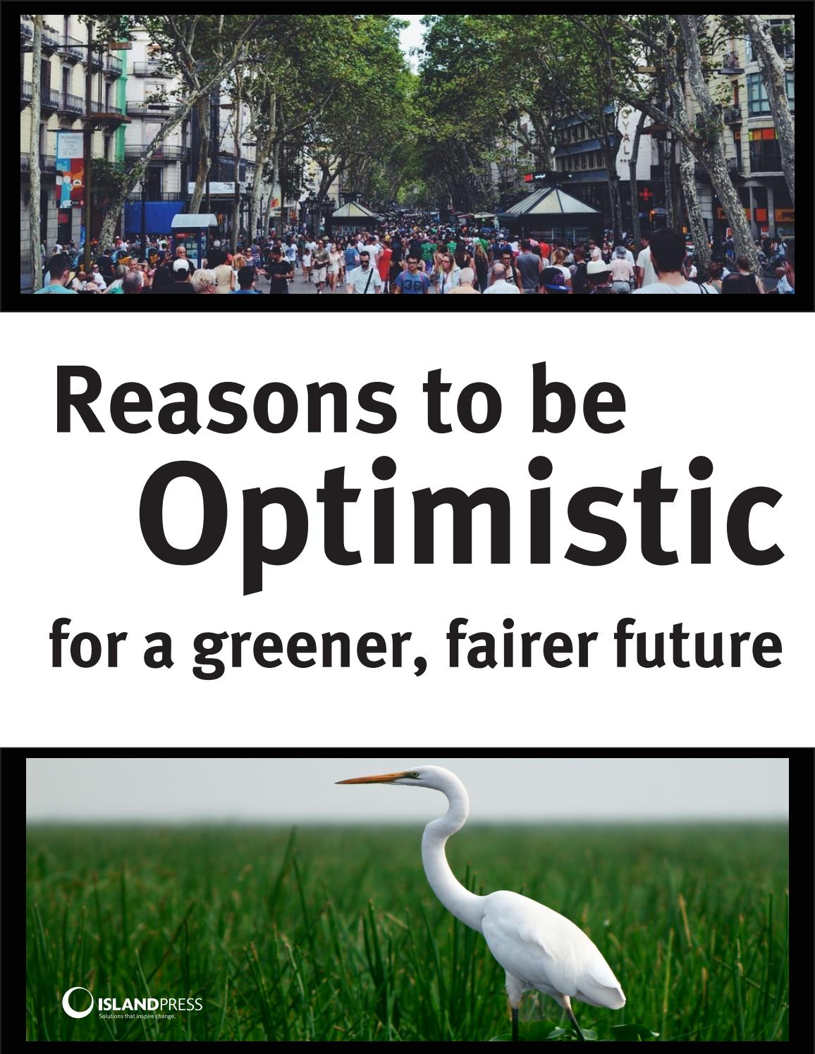 Reasons to be Optimistic for a Greener, Fairer Future by Island ...