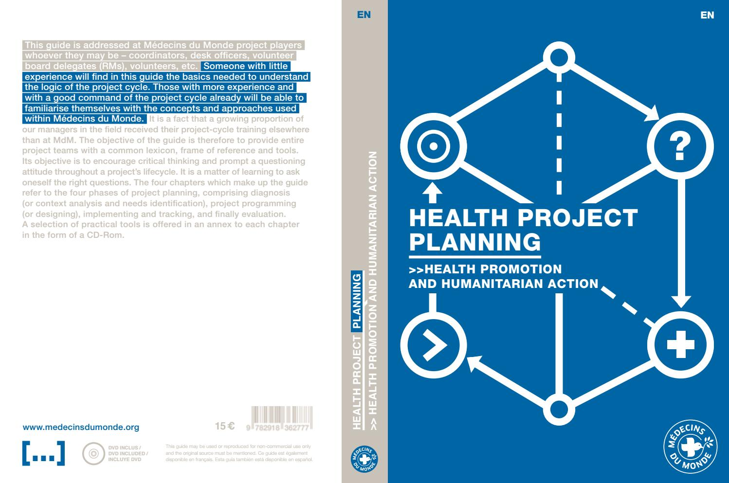 MdM health project planning guide 2015 by Médecins du Monde - issuu
