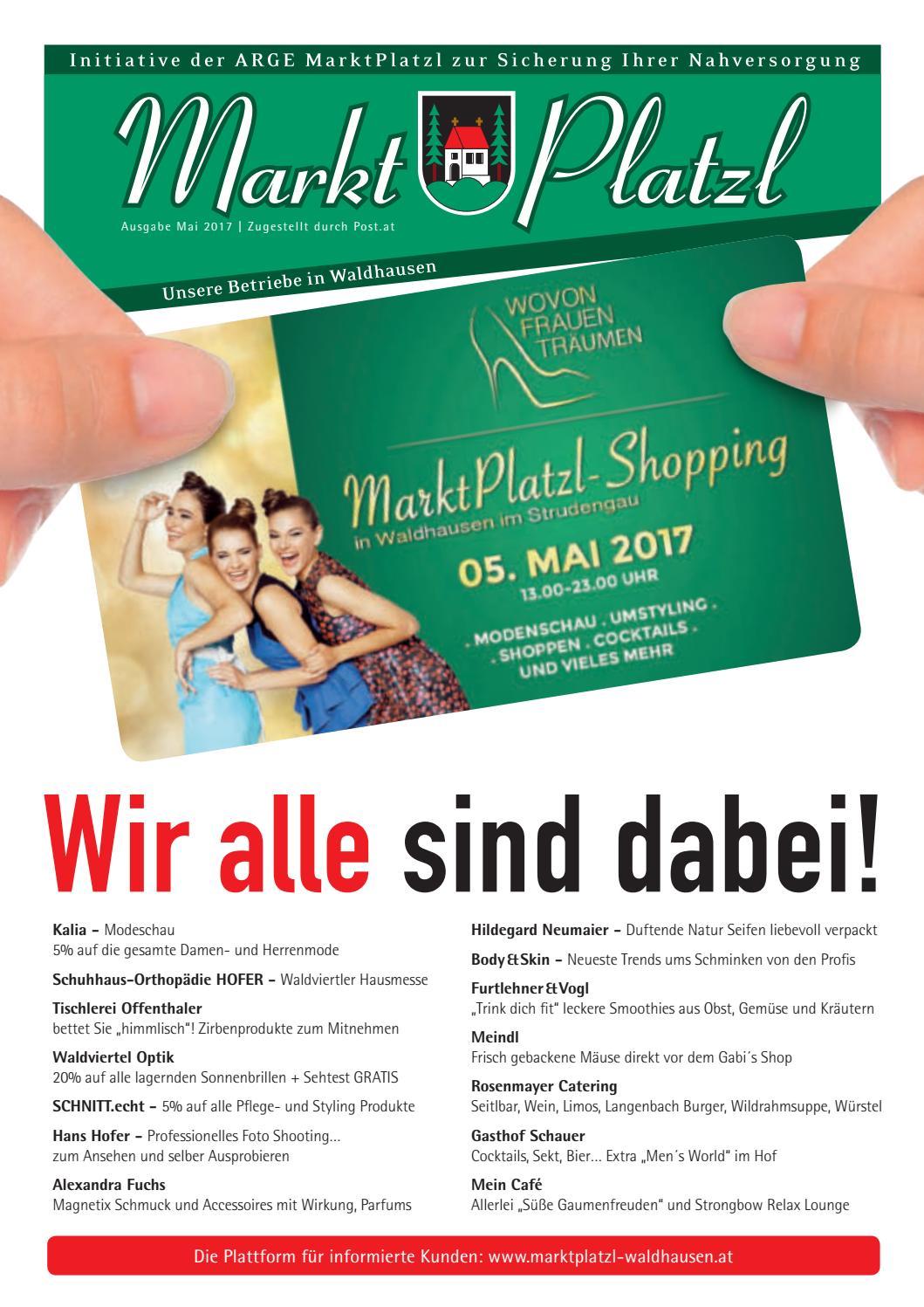 Markt Platzl Waldhausen im Strudengau Frühling 2017 by