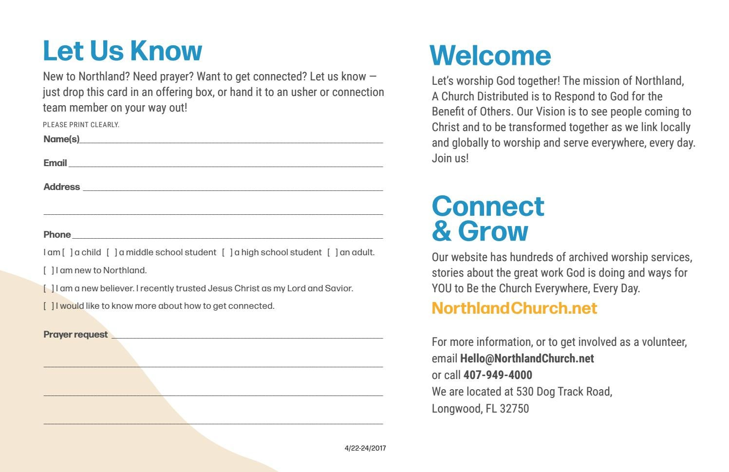 Worship Guide-Respond 17, 2017 by Northland Church - issuu