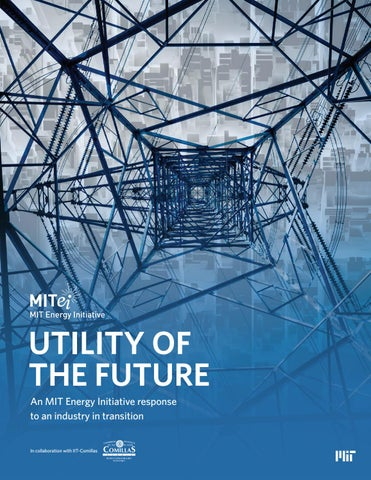 MIT Energy Initiative – Utility of the Future Report by Opus