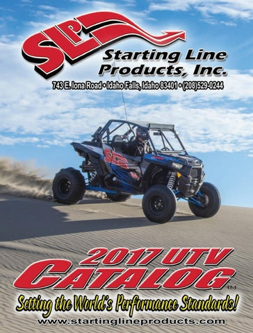 2017 Starting Line Products (SLP) UTV Catalog by Starting