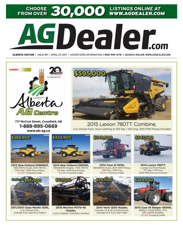 wheel amp deal alberta april 27 2017 by farm business