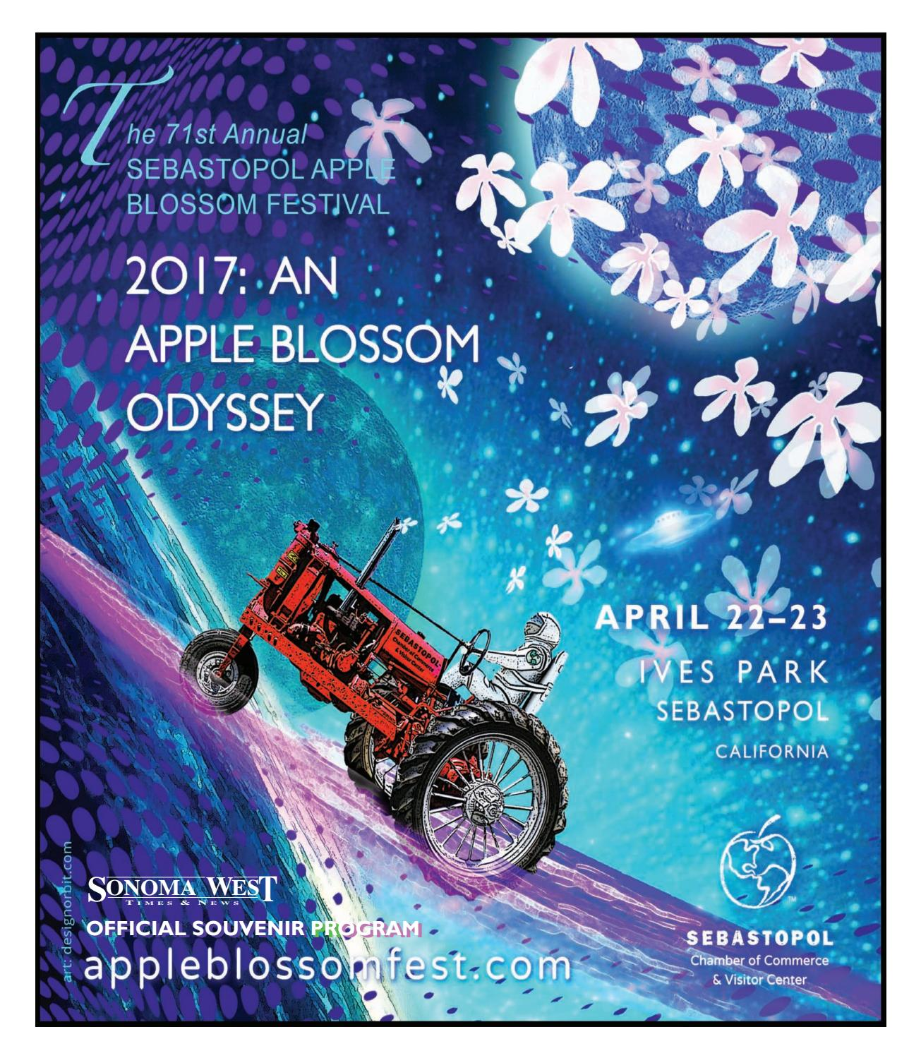 Apple blossom festival 2017layout by Sonoma West Publishers - issuu