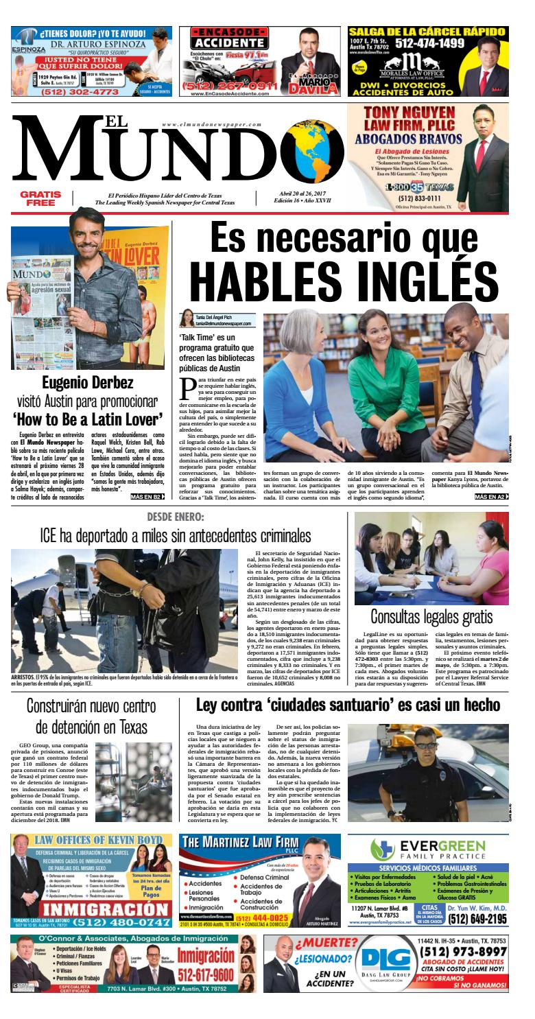 El Mundo Newspaper 16 by El Mundo Newspaper - issuu