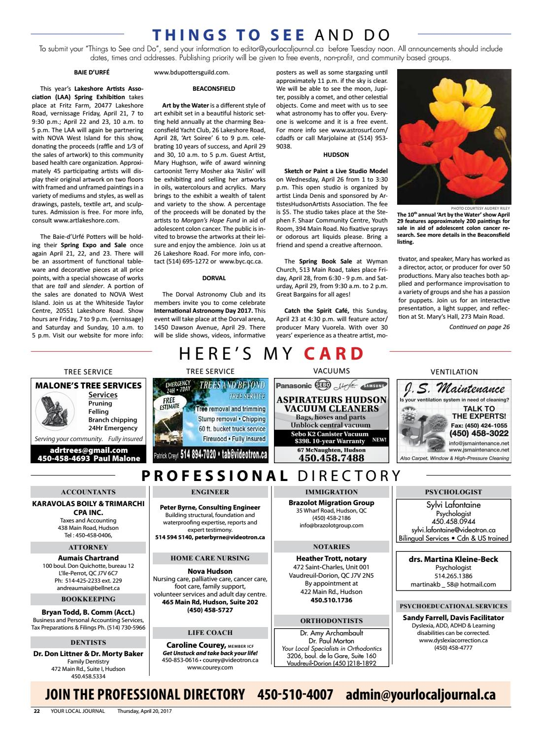 Your Local Journal - April 20th, 2017 by Your Local Journal