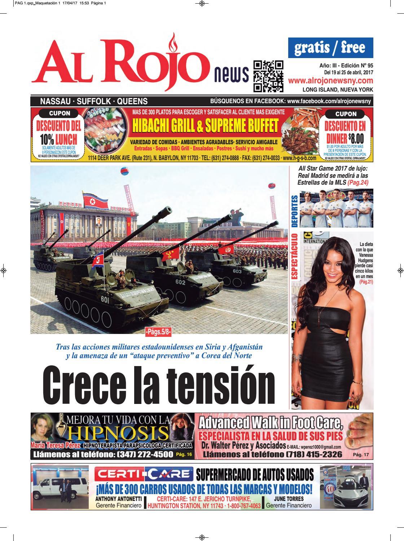 Al Rojo News año III edición 95 by Jose Rivas - issuu