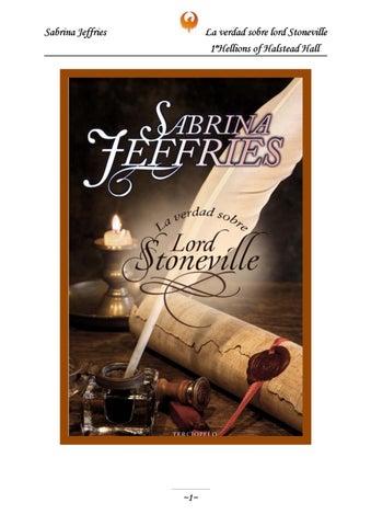 Saga Los Demonios De Halstead Hall Libro 1 La Verdad Sobre Lord Stoneville De Sabrina Jeffries By Alba Blasco Bernal Issuu