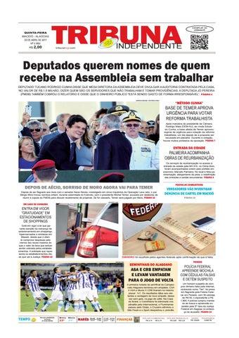 d01e62511ef92 Edição número 2882 - 20 de abril de 2017 by Tribuna Hoje - issuu