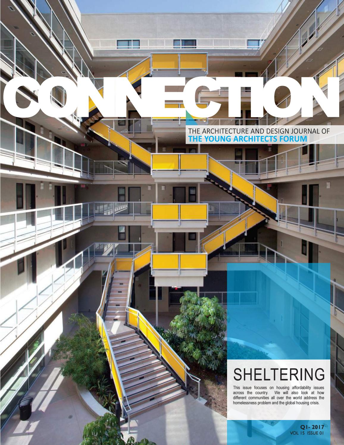 YAF CONNECTION 15.01 by Young Architects Forum - issuu