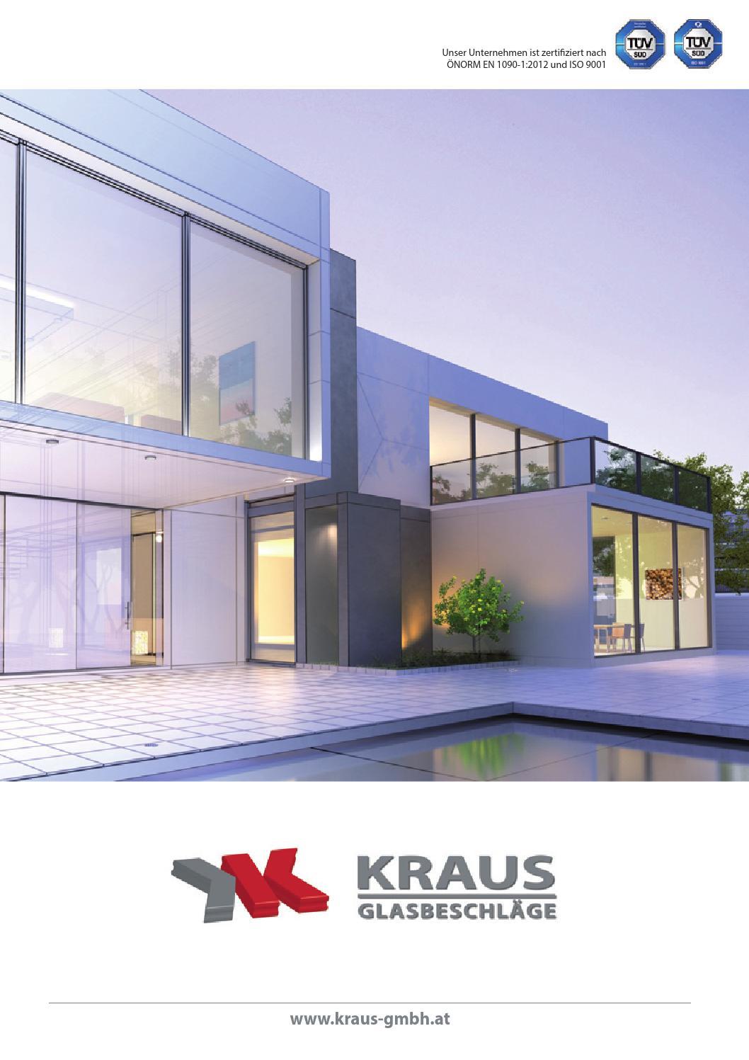 Kraus Glasbeschläge Katalog 2015 by Kraus_Glasbeschläge issuu