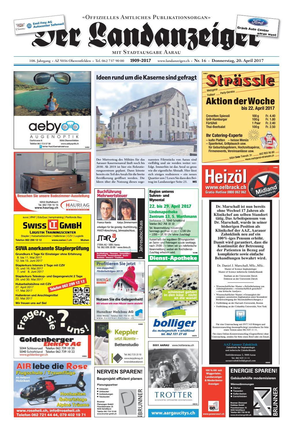 Der Landanzeiger 16 17 By Zt Medien Ag Issuu