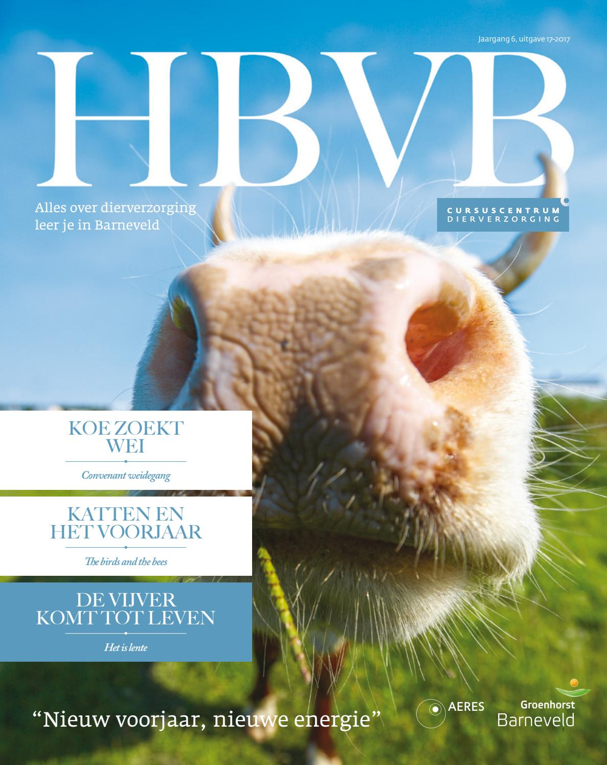 HBVB magazine - uitgave 17-2016 by Aeres Training Centre