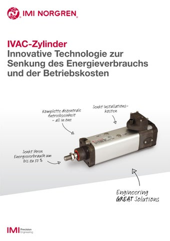 IVAC Cylinders - German by IMI Precision Engineering - issuu