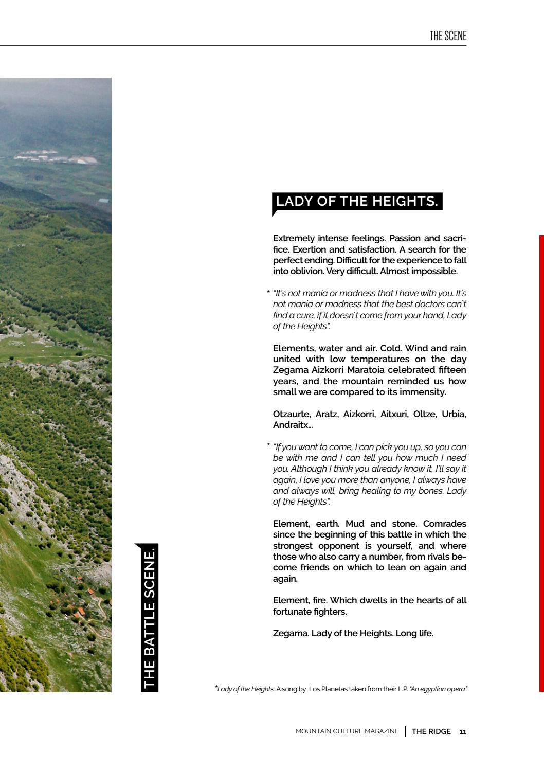 The Ridge [001]  Vertigo by kissthemountain - issuu