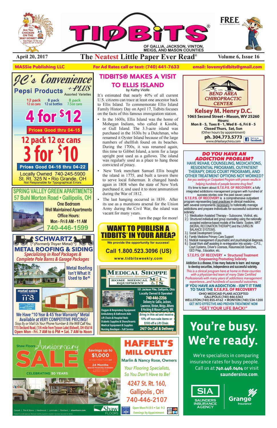 Tidbits Of Gallia Jackson Vinton Meigs Mason Counties V6 Issue 16 By Marilyn Massie Issuu