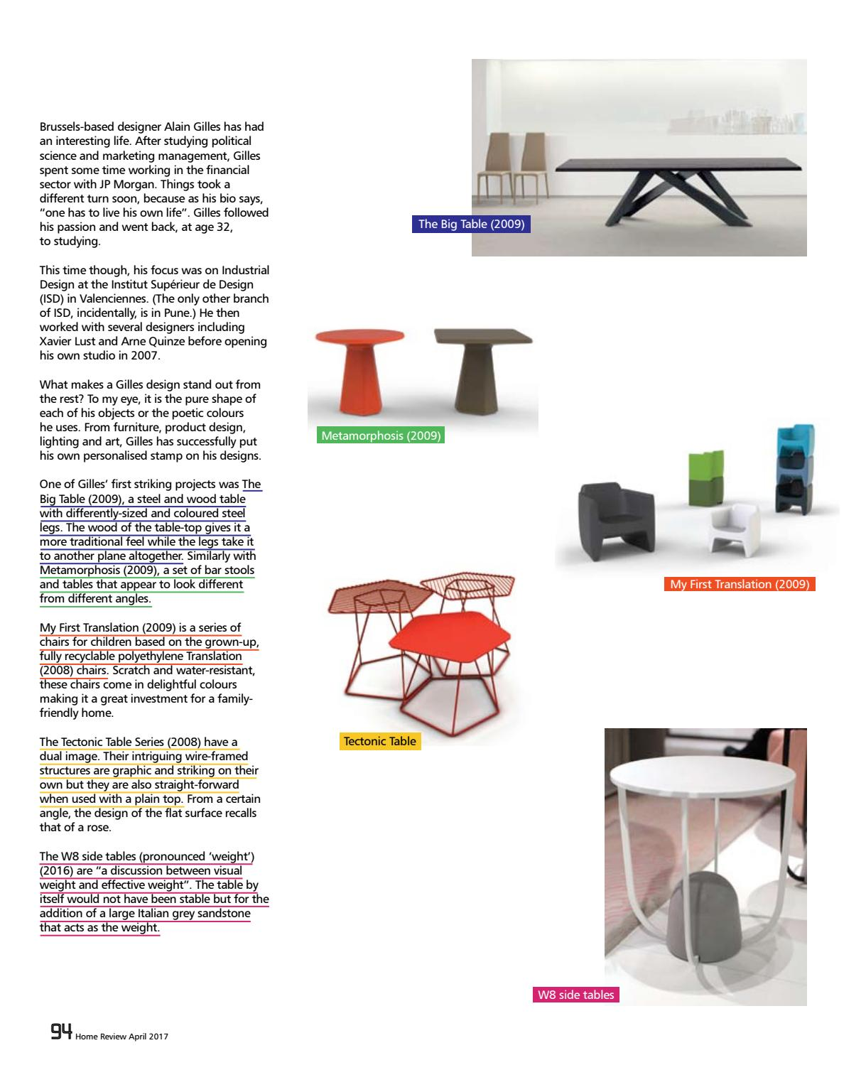 Institut Supérieur De Design Valenciennes home review april 2017home review - issuu