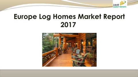 """Cover of """"Europe log homes market report ..."""