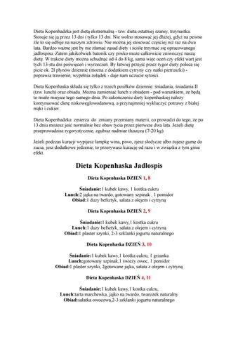Dieta Kopenhaska 1 By Dieta Kopenhaska Issuu