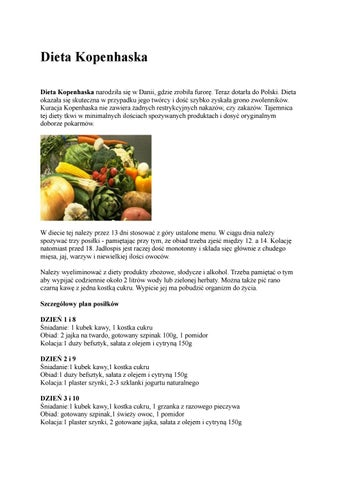 Dieta Kopenhaska By Dieta Kopenhaska Issuu