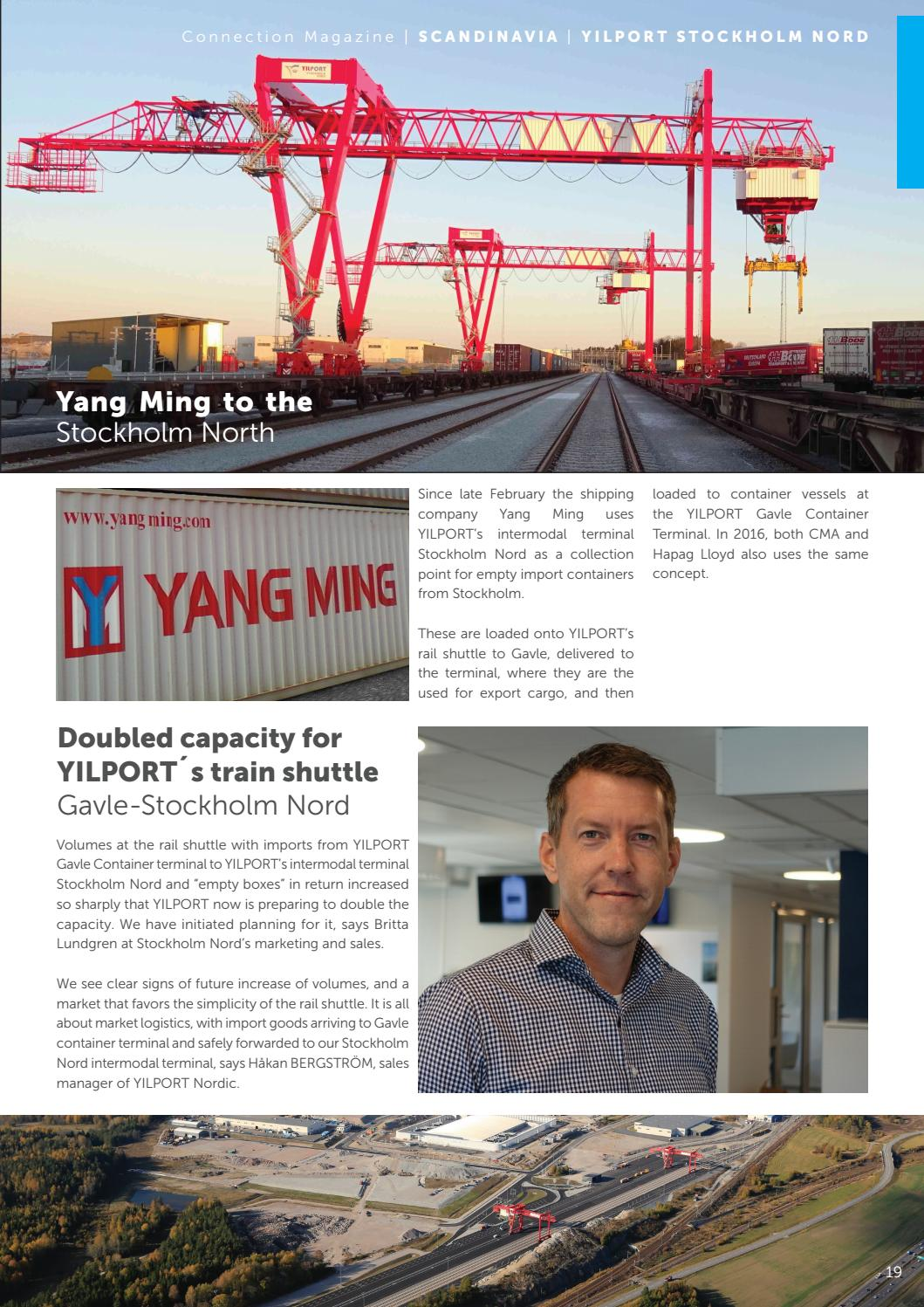 YPH Connection Quarterly Corporate Magazine by YILPORT Holding