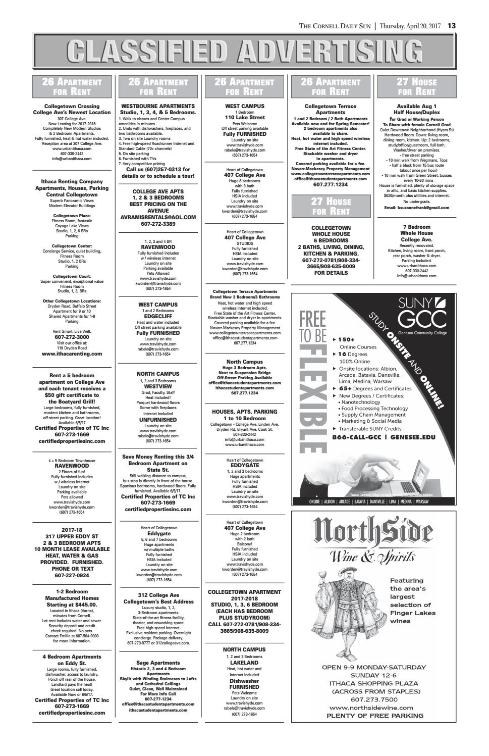 04 20 17 entire issue hi res by The Cornell Daily Sun - issuu