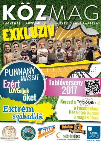 """Cover of """"KÖZMAG Tavasz Kaposvár"""""""