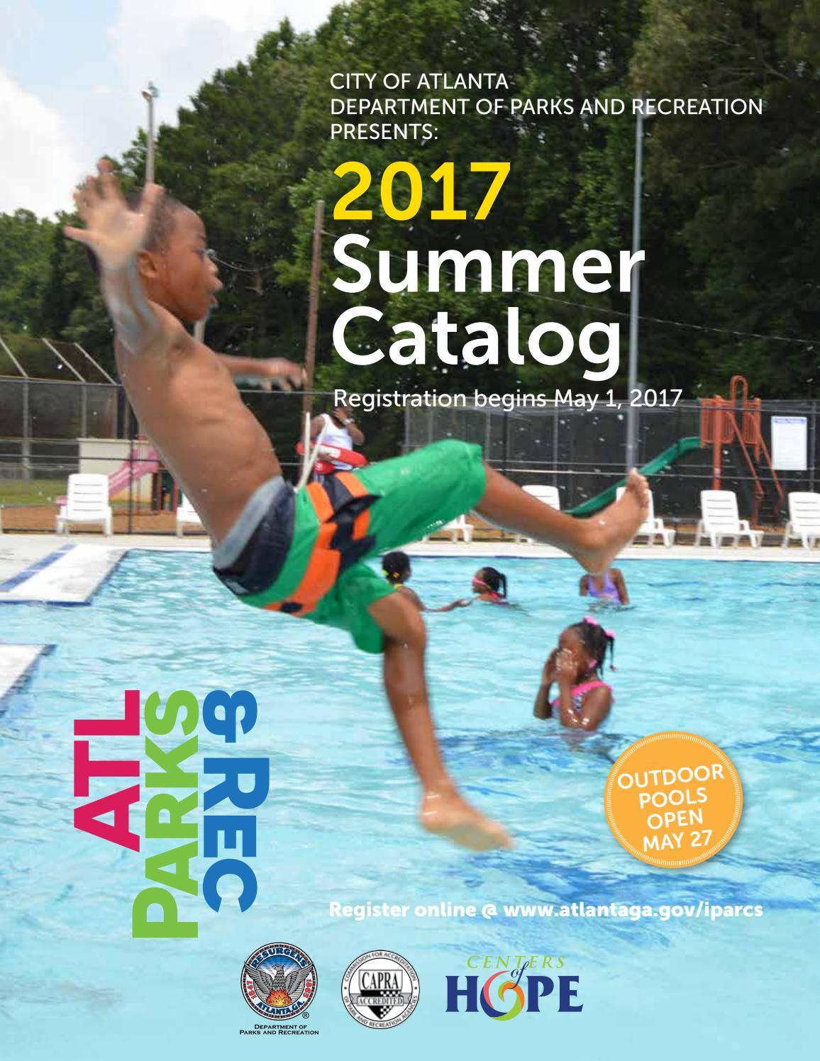ATL Parks Rec Summer 2017 Catalog By Atlanta DPR