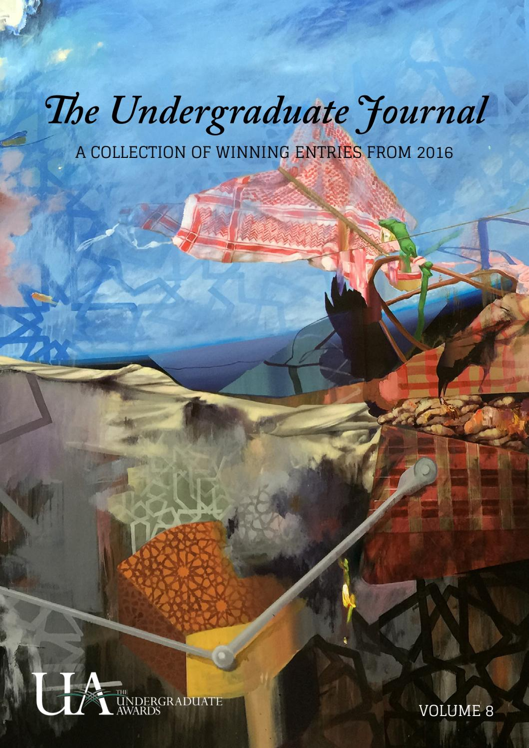 Undergraduate Journal Vol 4 By The Awards Issuu 2014 Ram 7 Pin Wire Diagram