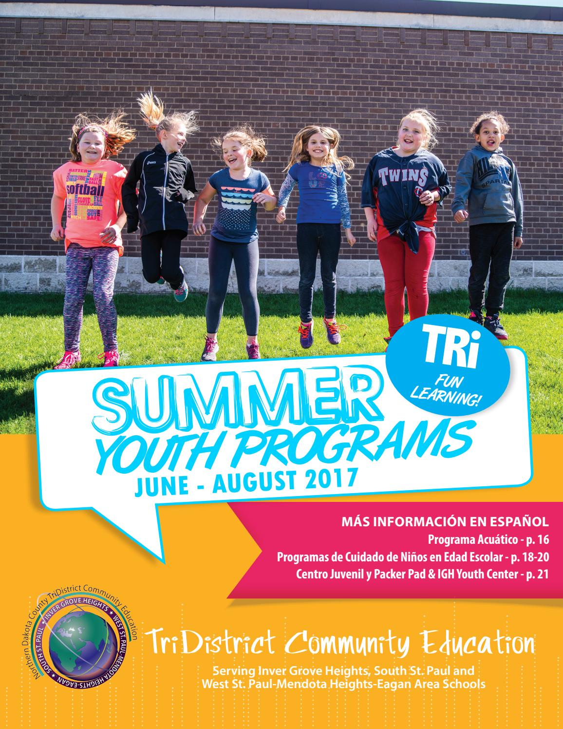 2017 Youth Summer Catalog by TriDistrict Community Education - issuu