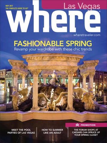 bcace0844eb Where Las Vegas May 2017 by Morris Media Network - issuu