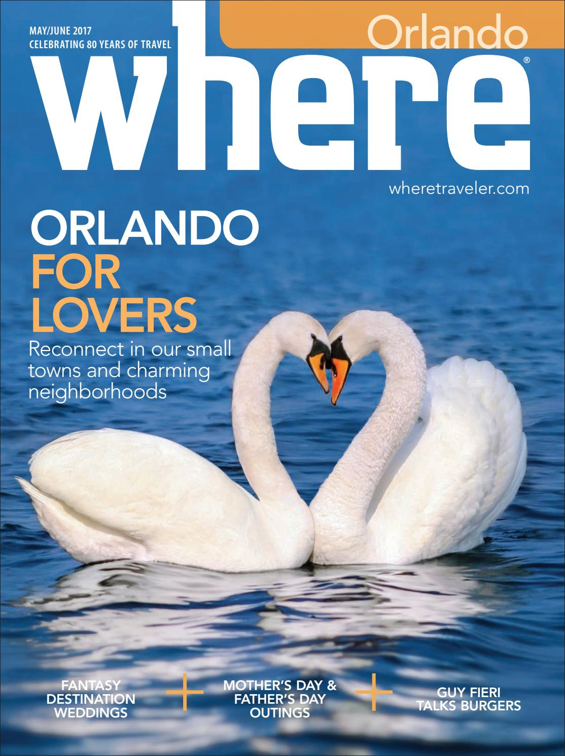 Where Orlando May - June 2017 by Morris Media Network - issuu
