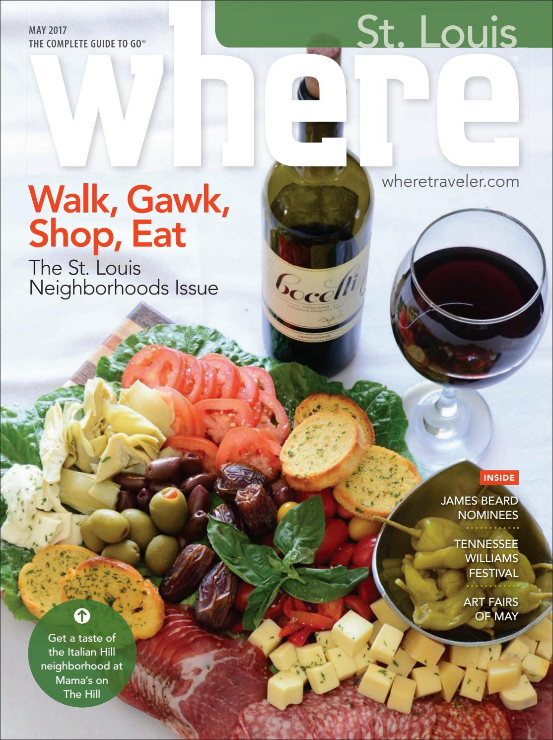 Where St Louis May 2017 by Morris Media Network - issuu